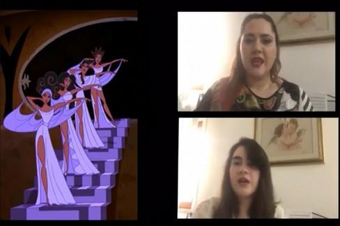 I capolavori Disney cantati dall'artista Monica Paciolla e sua sorella Giovanna