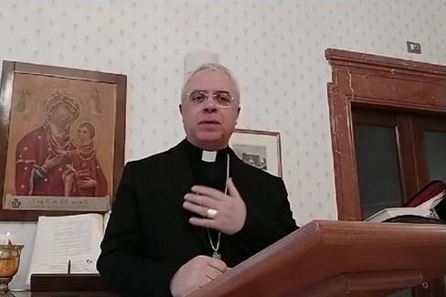 Preghiera quotidiana con il Vescovo di Cerignola Mons. Renna. Venerdì 3 aprile