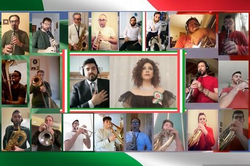 Video Orchestra di fiati online della Capitanata. 25 Aprile con arte