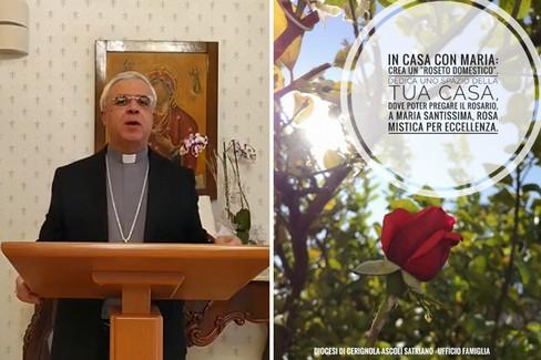 Preghiera quotidiana con il Vescovo di Cerignola Mons. Renna. Venerdì 1 maggio 2020