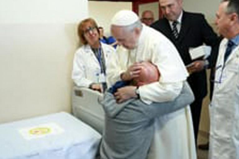 Mirko e Papa Francesco
