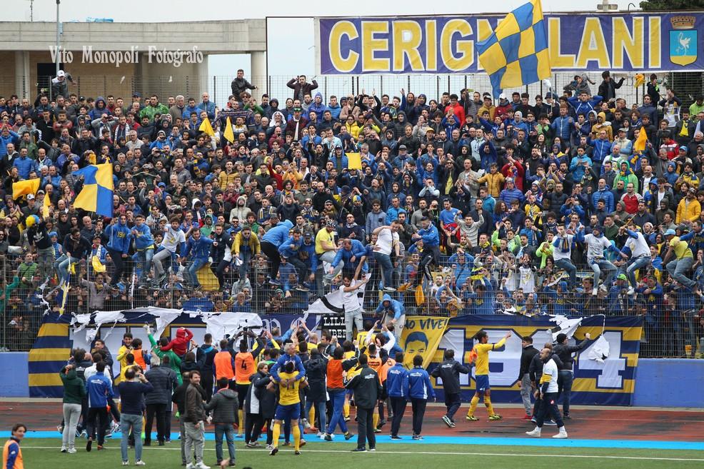 AUDACE CERIGNOLA VS BITONTO. <span>Foto Vito Monopoli</span>