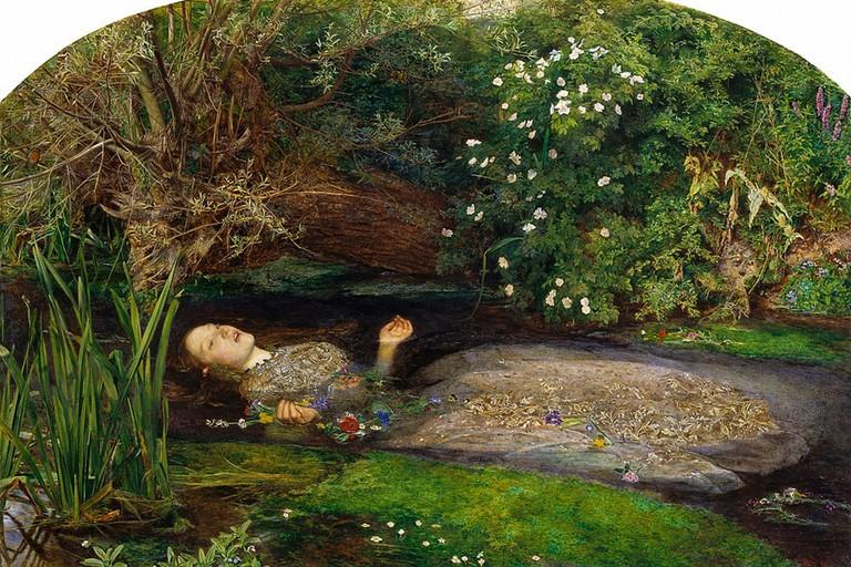 Ophelia di Millais