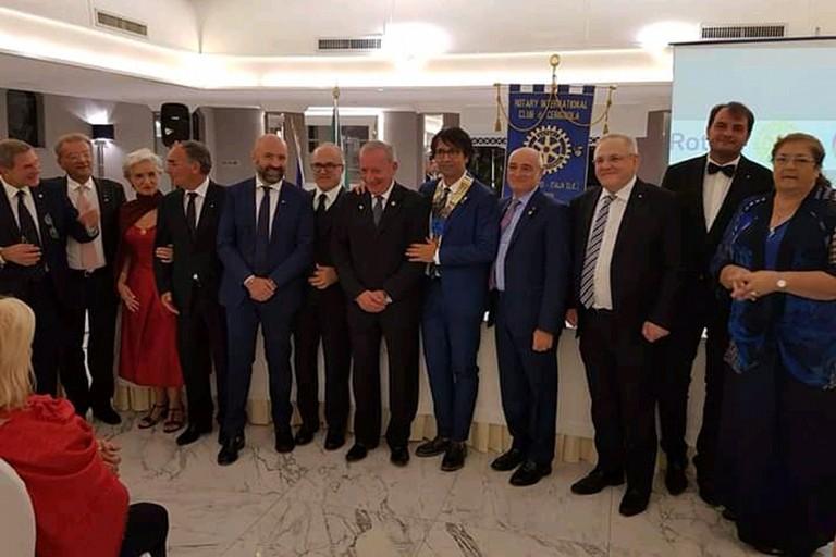 Passaggio del martelletto Rotary Club