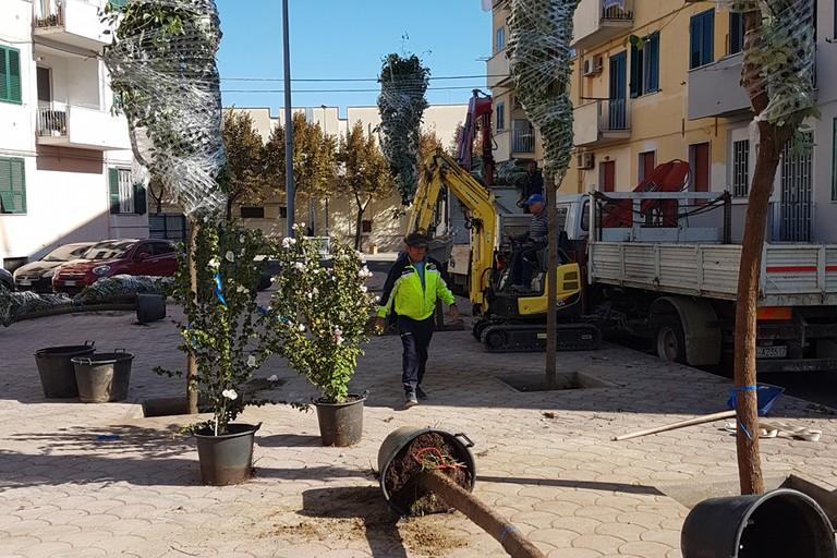 """Lavori in Piazza Emilia - Assessore Lionetti: """"la restituiamo alla città nella sua bellezza"""""""