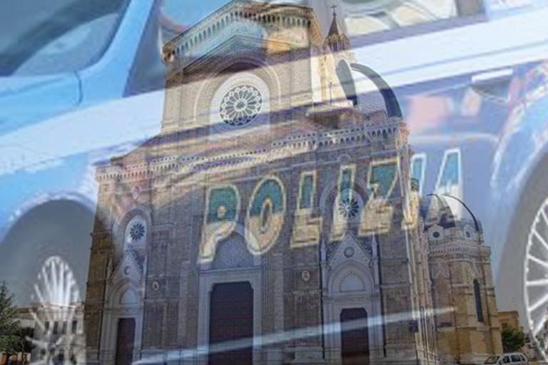 Polizia e Duomo di Cerignola