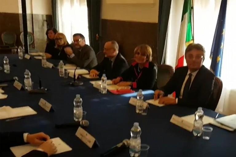 Annapaola Porzio in Commissione a Foggia
