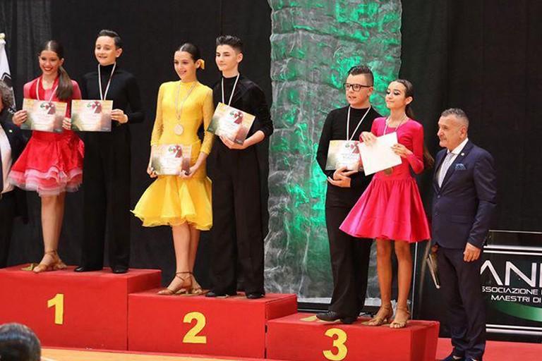 Premiazione ballerini