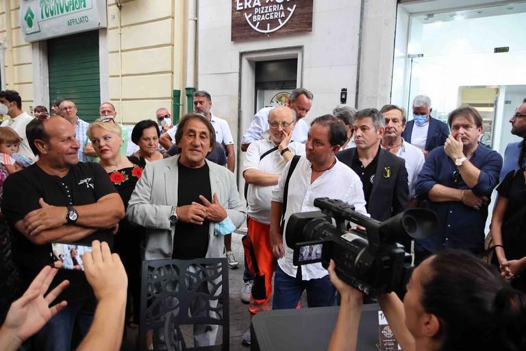 Antonio Giannatempo in Viale Roosevelt. <span>Foto Vito Monopoli</span>