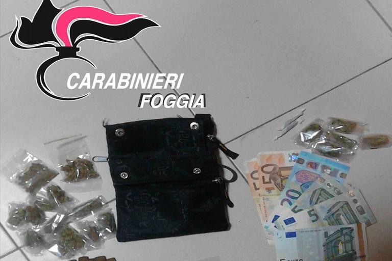 Detenzione di droga, furto aggravato, rapina e lesioni personali. Cinque arresti