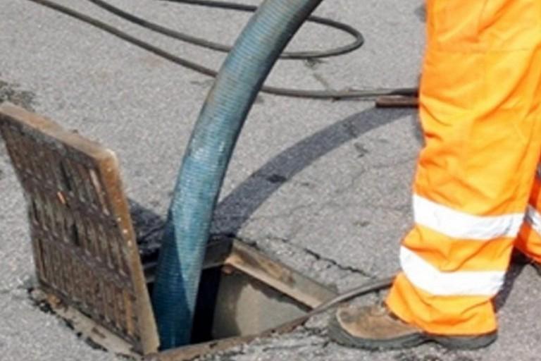 Sanificazione rete fognaria