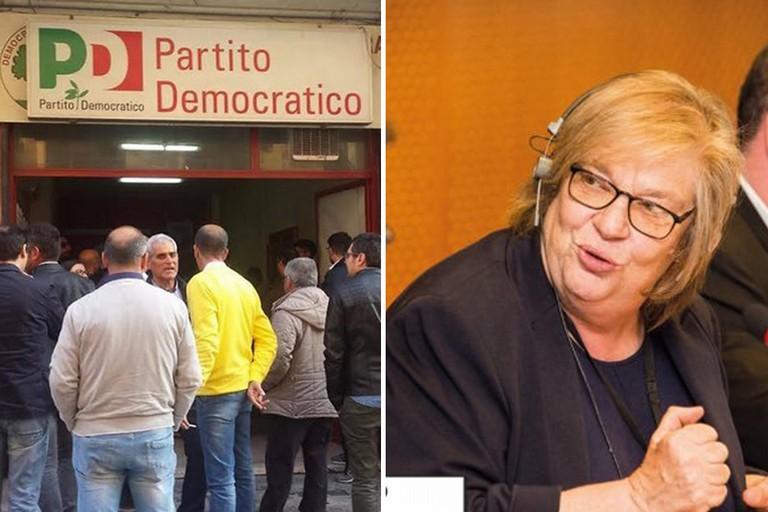 Segreteria PD ed Elena Gentile