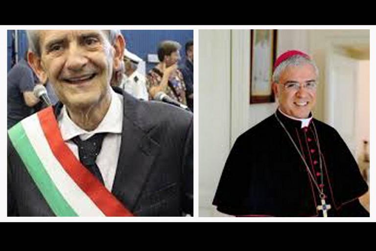 Sindaco Metta e Vescovo Renna