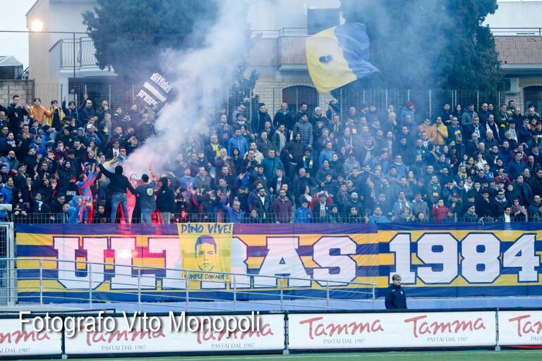Ultras. <span>Foto Vito Monopoli</span>