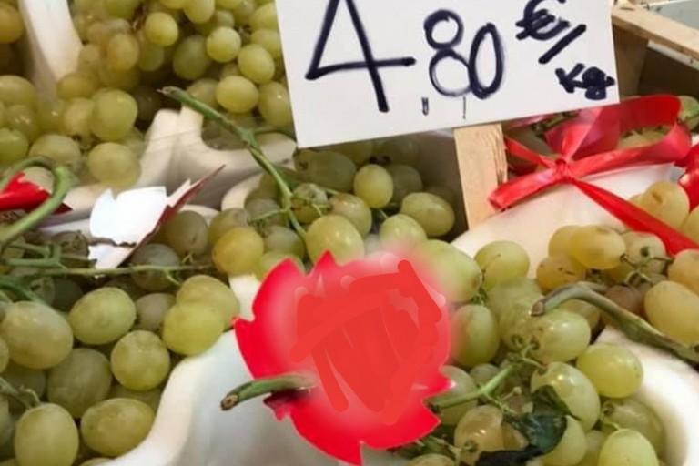 Prezzi dell'uva