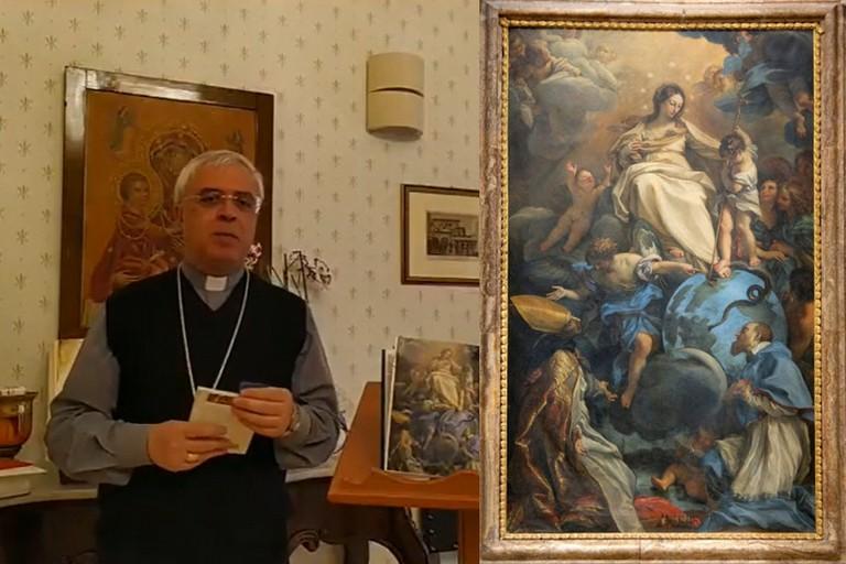 Vescovo Renna e Immacolata Concezione
