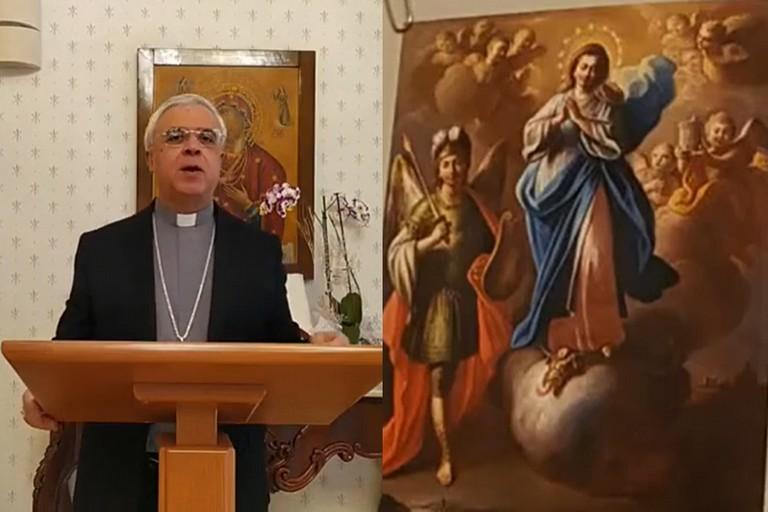 Vescovo e Immacolata di Ascoli