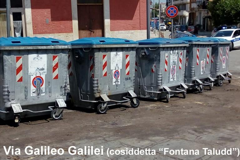 Cassonetti a Cerignola