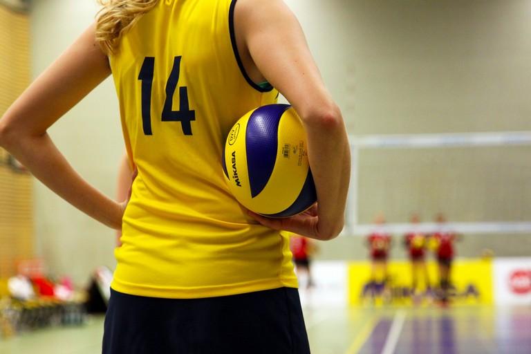 Giocatrice di pallavolo