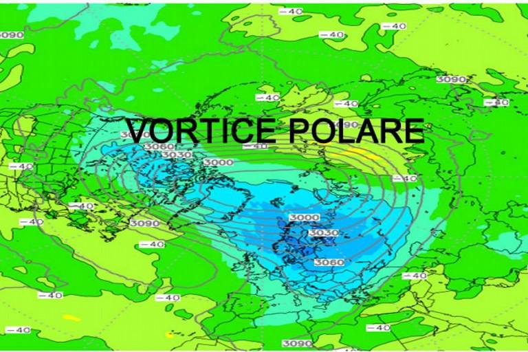 vortice polare bmeteo